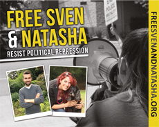Free Sven and Natasha - Resist Political Repression