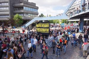 Tierbefreiung goes Blockupy 1