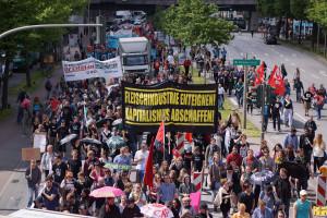 Tierbefreiung goes Blockupy 8