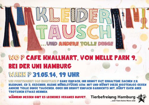 Tierbefreiungs-Soli-Vokü Flyer Mai 2014